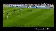 25.04.2010 Фиорентина 0 - 2 Киево гол на Пелисиер