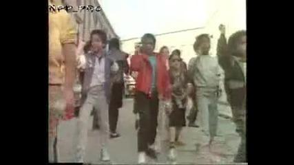 Реклама на pepsi с Michael Jackson