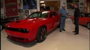 Джей Лено подкара Dodge Challenger Srt Hellcat 2014