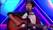 14 godishen hlapak prosylzi jurito i pobyrka publikata The X Factor Australia 2013