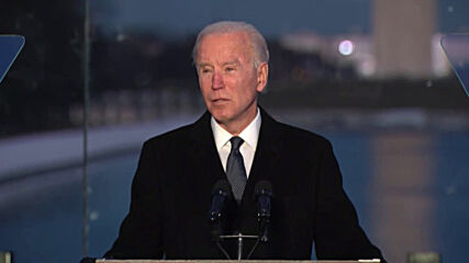 USA: Biden and Harris host memorial service for COVID victims