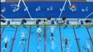 Майкъл Фелпс Побеждава Милорад Чавич На Финала 100 Метра Бътърфлай,  Рим 2009,  Световно По Плуване