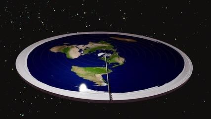 Плоска ли е Земята?