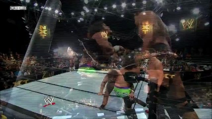 Corey Graves & Jake Carter vs. C J Parker & Nick Rogers