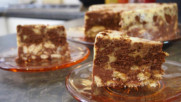 Бисквитена торта за 10 минути!