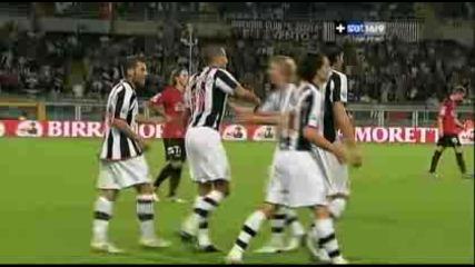 Ювентус - Ливорно 5:0 Давид Трезеге Гол