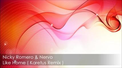Nicky Romero & Nervo - Like Home ( Karetus Remix )