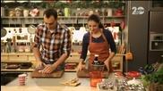 Салата от печена тиква с таханов сос в - Бон Апети (11.10.2014)