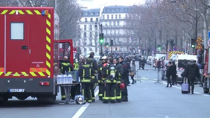 France: Fire breaks out at historic Ritz hotel in Paris