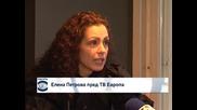 """Елена Петрова пред ТВ """"Европа"""" - I част"""