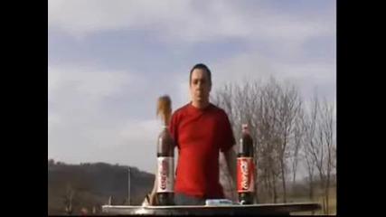 Coca - Cola + Mentos Opit