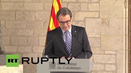 Spain: Catalan President Mas appears in court over November independence vote