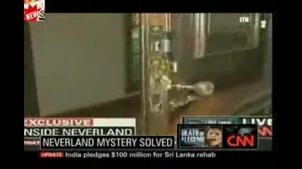Духът на Michael Jacksons заснет в Neverland от Cnn