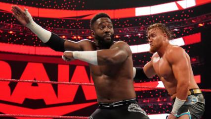 Cedric Alexander vs. Buddy Murphy: Raw, Oct. 14, 2019