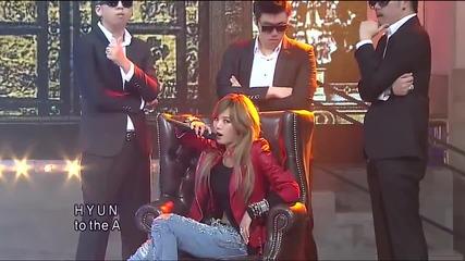 Hyuna feat. Block B Zico - Just Follow 」 Live Pekin