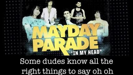 Mayday Parade In my head cover w/ lyrics