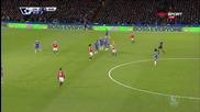Челси - Манчестър Юнайтед 1:1, Висша лига, 25-и кръг