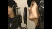 Токио Хотел в студиото за записи