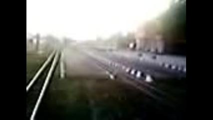 Влак 16101 , 06 10 2011г. гара Банско
