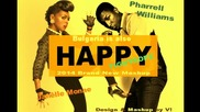 Pharrel Williams vs Janelle Monae - Happy Tightrope (badvlado Mashup)