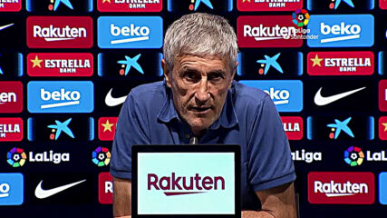 Spain: Barcelona's Setien 'happy' with victory over Espanyol despite not being on top form