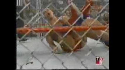 Wwe - Raw 11.6.2001 - Chris Benoit vs Kurt Angle - Cage match