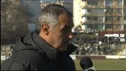 Сашо Ангелов: Играчите ми бяха респектирани от Черно море