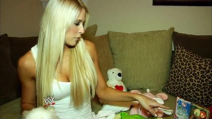 Wwe дивата Кели Кели и нейните играчки!