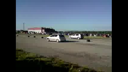 26.07.2009 Фолксваген Голф 3 - Пежо 306