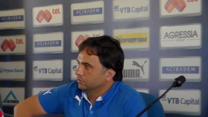 Ники Митов: Наясно съм със състава, уверен съм, че ще отстраним Иртиш