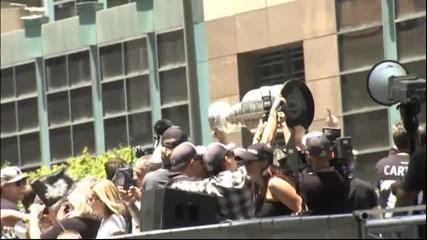 Шампионският парад на ЛА Кингс