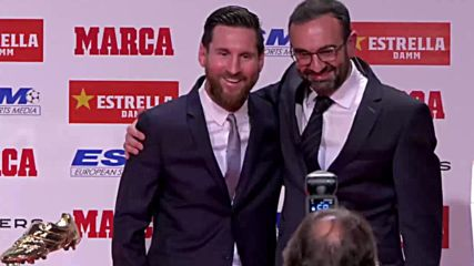 Spain: Messi wins record fifth Golden Boot award