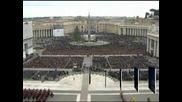 Папа Бенедикт XVI призова света да не губи надежда за мир