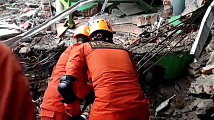 Indonesia: Search and rescue operations ongoing following deadly quake