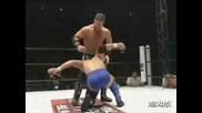 A J Styles vs. Senshi - Inoki Genome Federation 20.12.07