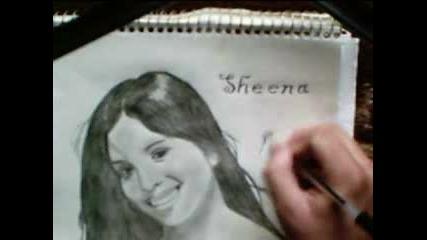Speed Drawing Of Sheena Mewani