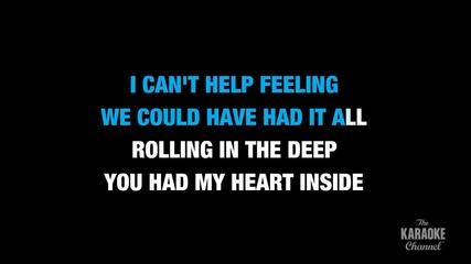 Adele - Rolling In The Deep (karaoke)