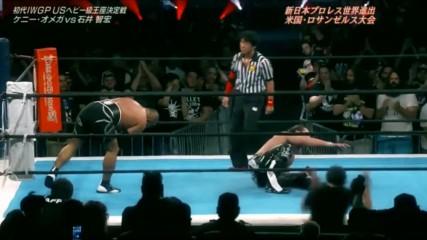 G1 Special в Usa - U.s. Tournament Финал - Кени Омега - Томохиро Иши
