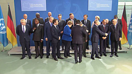 Germany: Leaders pose for 'family photo' as Berlin Libya conference begins