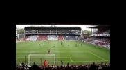 Феновете на Арсенал Пеят : One Nil to the Arsenal