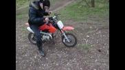mad louise girl bike crash - how not to ride a moto x bike