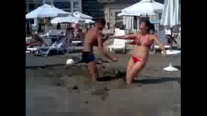 Битка на плажа [поморие]