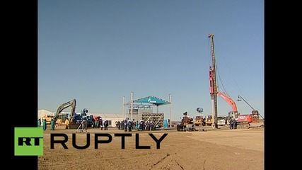 Russia: Putin green-lights building of Amur gas processing plant