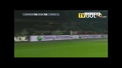 juventus inter 2:1 дербито на годината в италия