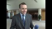 Манфред Вебер: В момента в България има затруднение при функционирането на демократичните принципи