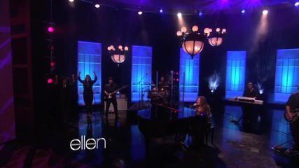 Demi Lovato - Skyscraper | В Шоуто На Елън |