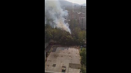Загасен пожар в столичен квартал