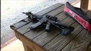 Стрелба с M4 Carbine Lwrc M6