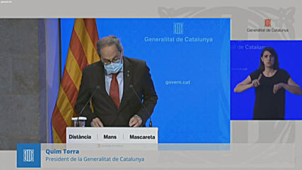 Spain: Catalan president rejects judge's decision to overturn Lleida confinement order