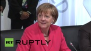 Germany: World leaders discuss Africa during G7 outreach meeting